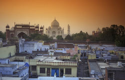 ASIA INDIA AGRA Royalty Free Stock Photo