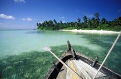 ASIA INDIAN OCEAN MALDIVES SEASCAPE BEACH Royalty Free Stock Photography