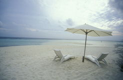 ASIA INDIAN OCEAN MALDIVES SEASCAPE BEACH Royalty Free Stock Photo