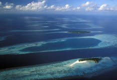 ASIA INDIAN OCEAN MALDIVES SEASCAPE Royalty Free Stock Photography