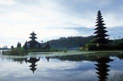 ASIA INDONESIA BALI LAKE BRATAN PURA ULUN DANU TEMPLE Stock Photography