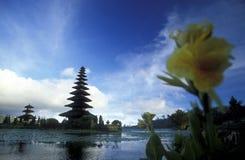 ASIA INDONESIA BALI LAKE BRATAN PURA ULUN DANU TEMPLE Stock Photos