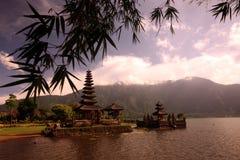 ASIA INDONESIA BALI LAKE BRATAN PURA ULUN DANU TEMPLE Stock Image