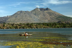 ASIA INDONESIA BALI MT BATUR VOLCANO LANDSCAPE