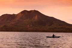 ASIA INDONESIA BALI MT BATUR VOLCANO LANDSCAPE Royalty Free Stock Photography