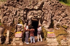 ASIA INDONESIA BALI UBUD GOA GAJAH TEMPLE Stock Photos