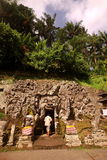 ASIA INDONESIA BALI UBUD GOA GAJAH TEMPLE Royalty Free Stock Photos