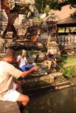 ASIA INDONESIA BALI UBUD GOA GAJAH TEMPLE Royalty Free Stock Photography