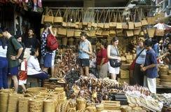 ASIA INDONESIA BALI UBUD MARKET Royalty Free Stock Photo