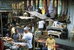 ASIA INDONESIA BALI UBUD MARKET Stock Images