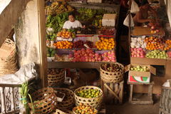 ASIA INDONESIA BALI UBUD MARKET royalty free stock photos