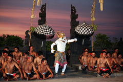 ASIA INDONESIA BALI ULU WATU DANCE TRADITION Stock Photo