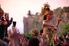 ASIA INDONESIA BALI ULU WATU DANCE TRADITION Royalty Free Stock Photography