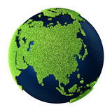 asia jordgräs Royaltyfri Bild
