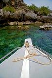 Asia in the  kho phangan isles bay    south china green sea   bo Royalty Free Stock Photo