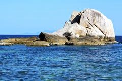 Asia kho tao bay white  beach    rock  thailand south china sea Stock Photo