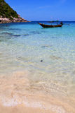 Asia in the  kho tao  isle white  beach        thailand  and sou Stock Photography