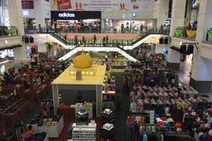 Asia Kuala Lumpur Malaysia, Berjaya Time Square Royalty Free Stock Photo