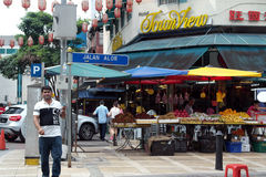 Asia Kuala Lumpur Malaysia, Jalan Alor Royalty Free Stock Photo