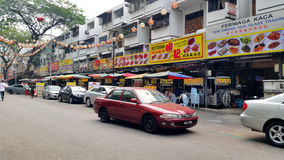 Asia Kuala Lumpur Malaysia, Jalan Alor Royalty Free Stock Photography