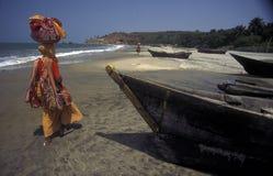 ASIA LA INDIA GOA Fotografía de archivo