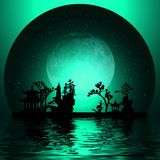 Asia Landscape Royalty Free Stock Image