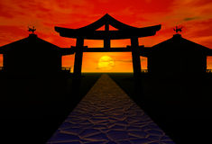 Asia landscape royalty free stock images