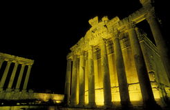 ASIA LEBANON BAALBEK. The temple city of Baalbek in the east of Lebanon in the middle east Royalty Free Stock Image