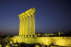ASIA LEBANON BAALBEK Royalty Free Stock Photography