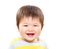 Asia little girl feeling excited Royalty Free Stock Photo