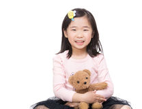 Asia little girl Royalty Free Stock Photo