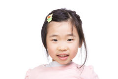 Asia little girl smile Royalty Free Stock Photography
