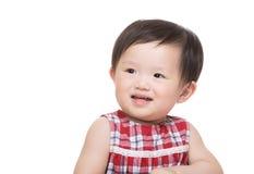 Asia little girl smile Royalty Free Stock Photos