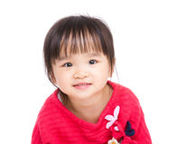 Asia little girl smile Stock Image