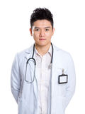 Asia male doctor Stock Images