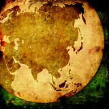 Asia map Stock Photos