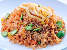 asia mat stekte rice Royaltyfri Fotografi