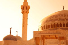 ASIA MIDDLE EAST JORDAN AMMAN. The  King Abdullah Mosque in the City Amman in Jordan in the middle east Stock Photography