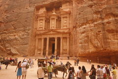 ASIA MIDDLE EAST JORDAN PETRA Royalty Free Stock Photo