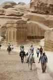 ASIA MIDDLE EAST JORDAN PETRA Royalty Free Stock Photography