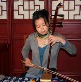 asia musik arkivfoton
