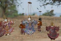 ASIA MYANMAR BAGAN PUPPET SHOW Royalty Free Stock Image