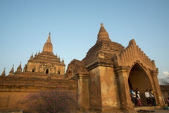 ASIA MYANMAR BAGAN TEMPLE THAT BYIN NYU Royalty Free Stock Image