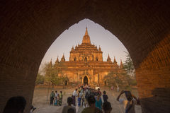ASIA MYANMAR BAGAN TEMPLE THAT BYIN NYU Stock Image