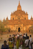 ASIA MYANMAR BAGAN TEMPLE THAT BYIN NYU Royalty Free Stock Photo