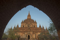 ASIA MYANMAR BAGAN TEMPLE THAT BYIN NYU Royalty Free Stock Images