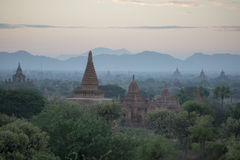ASIA MYANMAR BAGAN TEMPLE PAGODA LANDSCAPE Royalty Free Stock Images