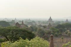 ASIA MYANMAR BAGAN TEMPLE PAGODA LANDSCAPE Stock Image
