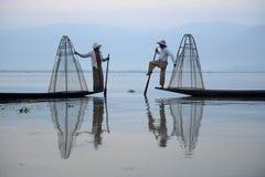 ASIA MYANMAR INLE LAKE Royalty Free Stock Image