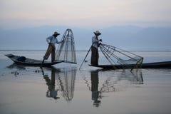 ASIA MYANMAR INLE LAKE Royalty Free Stock Photo